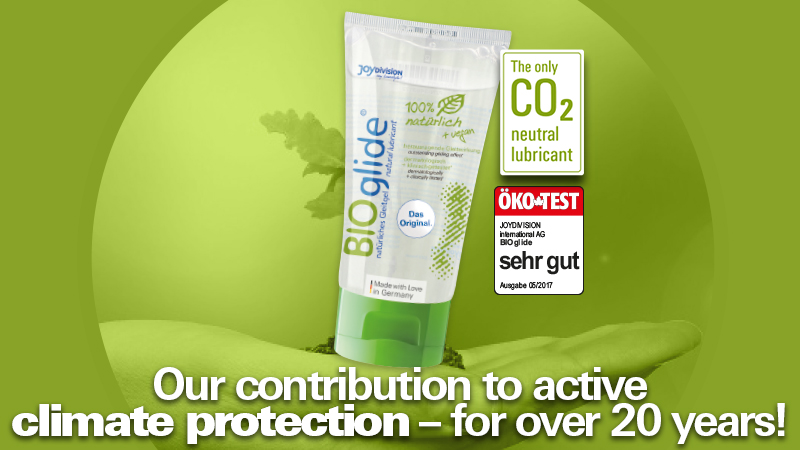 BIOglide Gleitgel climate protection: Our contribution to activate climate protection - for over 20 years!