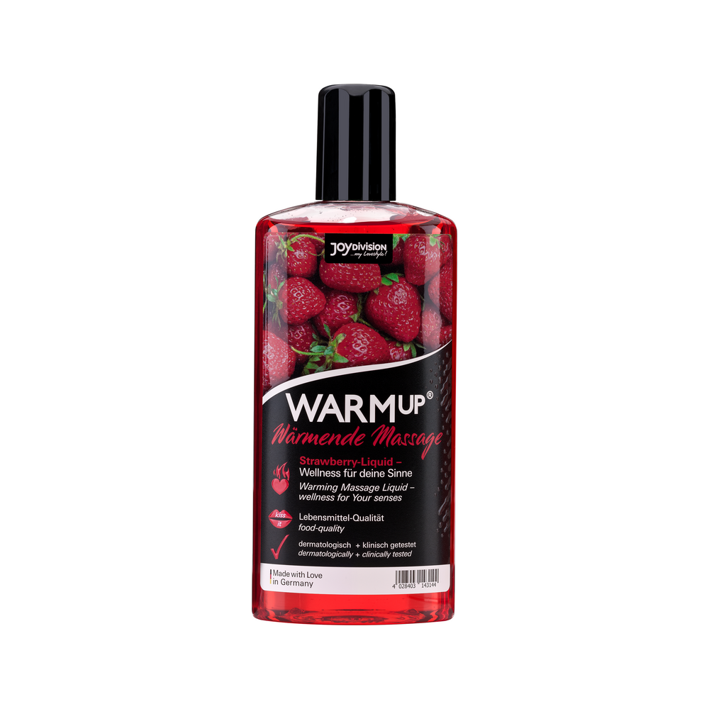 14314 WARMup massage liquid strawberry 150 ml