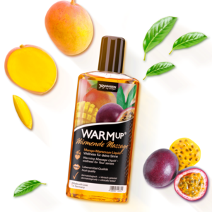 14330 WARMup massage liquid mango-maracuya 150 ml mood