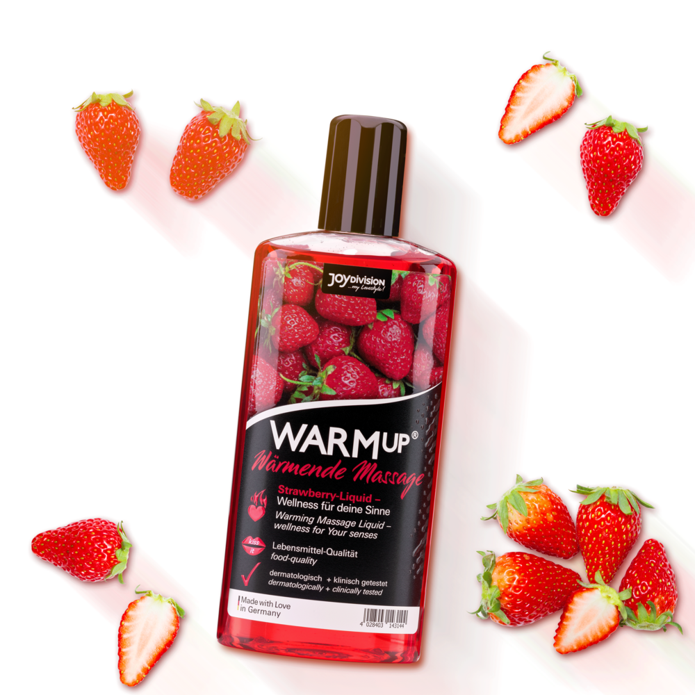 14314 WARMup massage liquid strawberry 150 ml mood