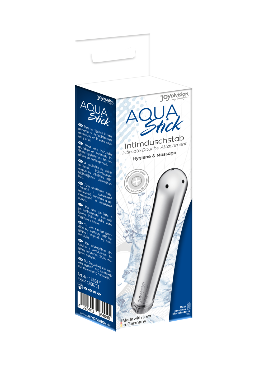 16411 AQUAstick silver packaging