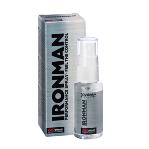 14848 IRONMAN 30 ml packaging and spray